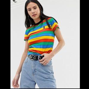Ragged Jeans Rainbow Ringer Shirt
